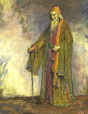 Sir Herbert Beerbohm Tree as Shylock, painted ...
