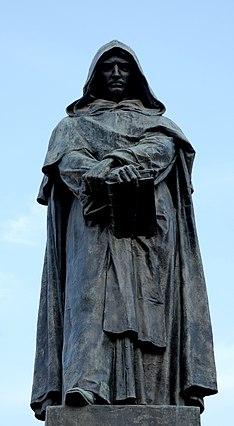 Statua a Giordano Bruno