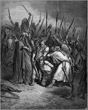 Galego: Gustave Doré. A morte de Agag