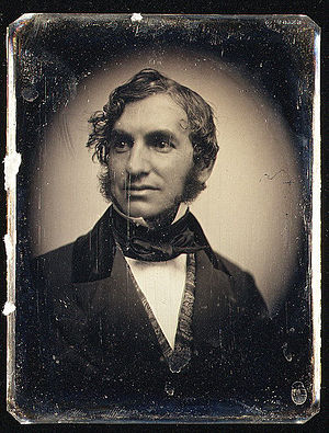English: Henry Wadsworth Longfellow, circa 1850.