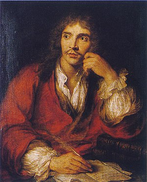Charles-Antoine Coypel, Molière
