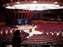 {{nl|Vergaderzaal van de Raad van Europa}}