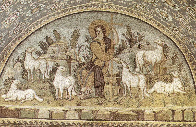File:Ravenna, mausoleo di galla placidia, buon pastore (prima metà del V secolo).jpg