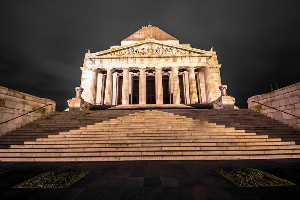 Shrine of Remembrance, Melbourne, VIC