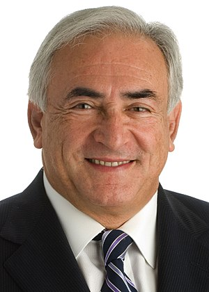 English: Dominique Strauss-Kahn, Managing Dire...