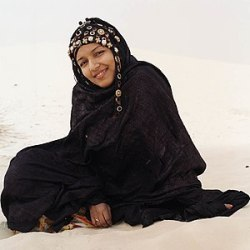 Tuareg woman from Mali, January 2007