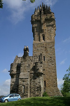 English: Wallace Monument In memory of William...