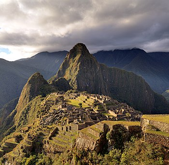 The Macchu Picchu, a UNESCO World Heritage Sit...