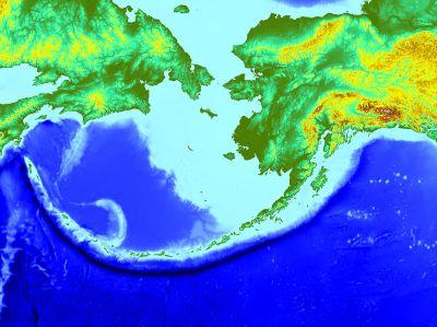 Aleutian Trench - Wikipedia