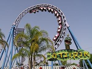 Anaconda riller coaster (Lunapark Tel Aviv)