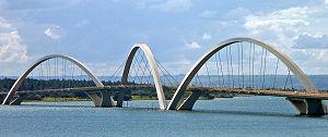 Bridge Juscelino Kubitschek (Ponte JK), Brasil...