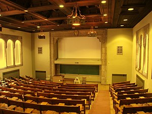 Classroom, Cathedral of Learning, University o...