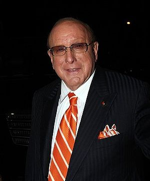 Legendary record producer Clive Davis, Chairma...
