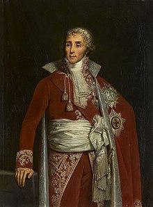 Joseph Fouché sur une huile sur toile de Claude-Marie Dubufe, château de Versailles.