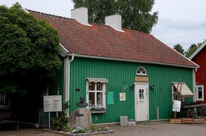 Gröna huset Hova