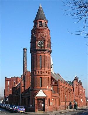 Green Lane Masjid, a mosque, on Green Lane, Sm...