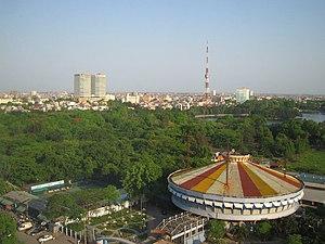 View of Hanoi from Nikko Tower.