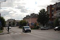 Skyline of Joniškis
