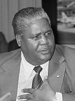 Nkomo one of the leading figures of resistance to white minority rule in Southern Rhodesia