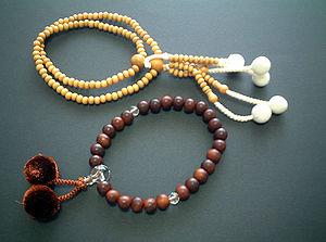 Mala, Buddhist prayer beads.