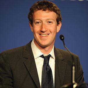Mark Zuckerberg, Founder & CEO of Facebook, at...