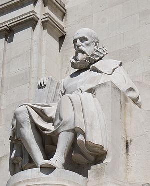 English: Monument to Miguel de Cervantes, Madr...
