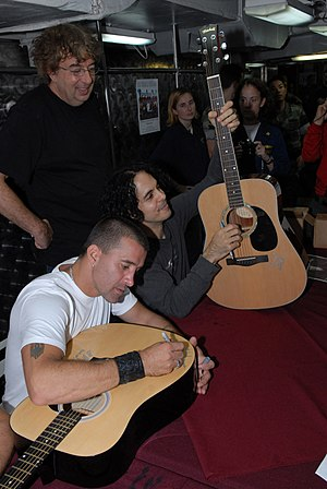 GULF OF OMAN (Sept. 24, 2008) Scott Stapp, for...