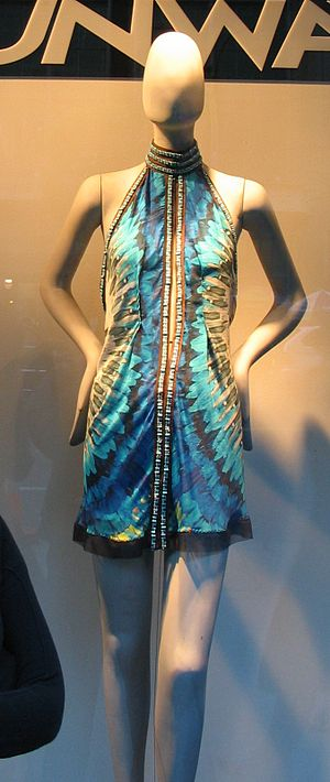 Dress designed by Ule Herzner for Project Runway