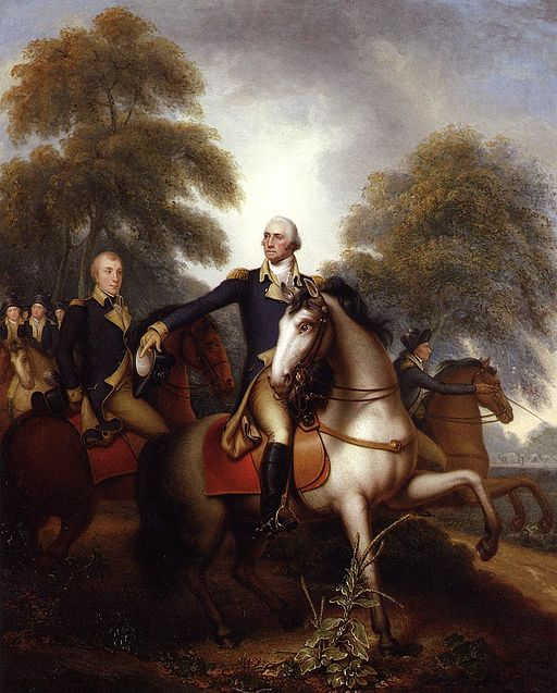 Washington Before Yorktown Rembrandt Peale 1823