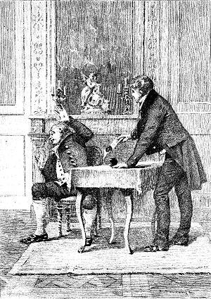 Illustration of Honoré de Balzac's The Marriag...