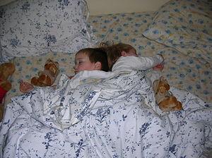 They're asleep!