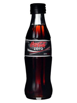Español: Botella de 237cc de Coca-Cola Zero, c...