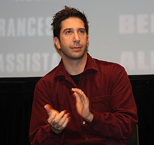 David Schwimmer at the premiere of Run, Fat Bo...