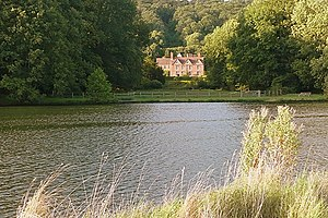 English: Hardwick House Toad Hall? The author ...