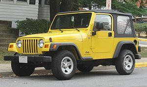 1997-2006 Jeep Wrangler photographed in USA.