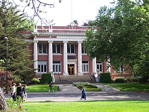 Johnson Hall, University of Oregon
