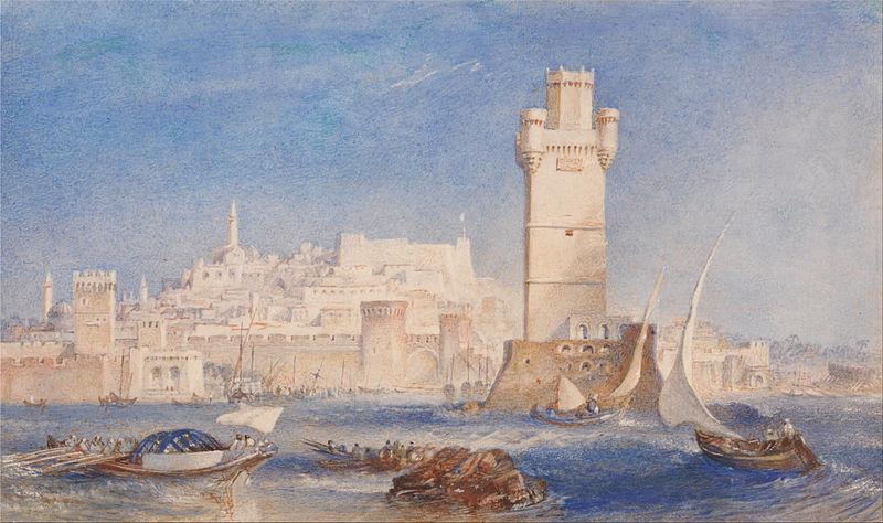 File:Joseph Mallord William Turner - Rhodes - Google Art Project.jpg