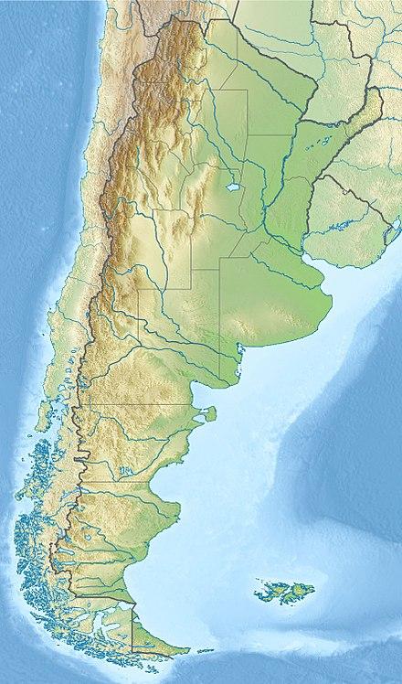 Vị trí Vườn quốc gia Iguazú