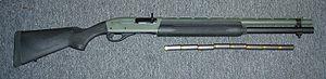 Remington 1100 Tactical Shotgun with 8 rounds ...
