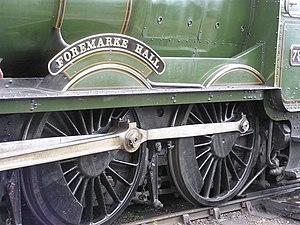 English: Train detail, Toddington A close-up o...