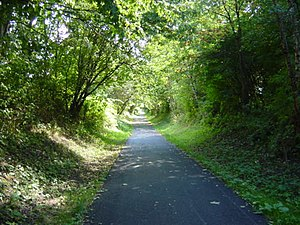 English: Transpennine Trail at Gateacre. This ...