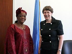 6 July 2010 - UNDP Administrator Helen Clark m...