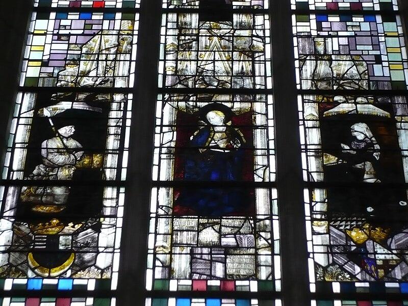 Vitrail chapelle Angers