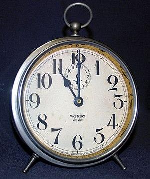 A Westclox Big Ben Clock