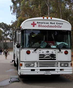 American Red Cross Bloodmobile