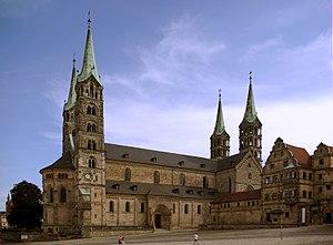Bamberg, Cathedral Français : La cathédrale de...