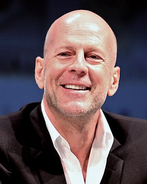 Bruce Willis at the 2010 Comic Con in San Diego
