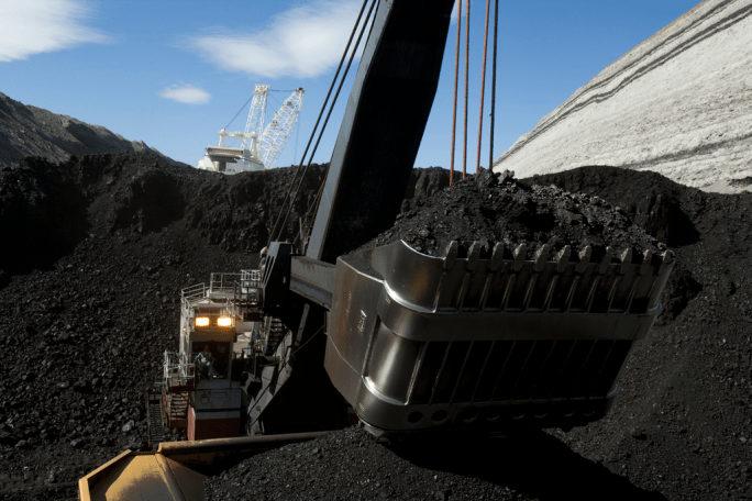 Coal Shovel at Mine