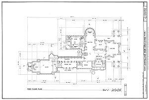 English: Dana-Thomas House (1902) 301 East Law...