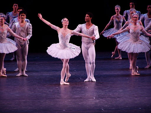 Darcey Bussell, curtain call for Theme and Variations